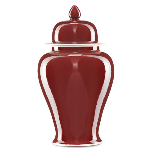 Oxblood Small Jar