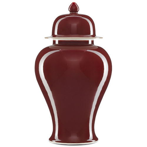 Oxblood Medium Jar