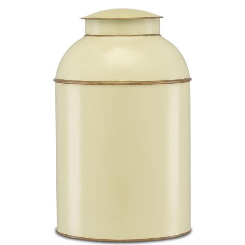 London Ivory and Gold Large Tea Box