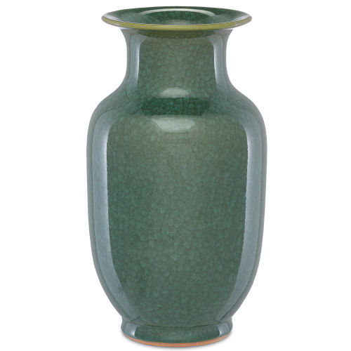 Karoo Crystalized Green Small Crystalized Vase
