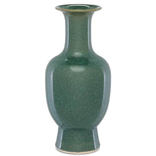 Karoo Crystalized Green Large Crystalized Vase