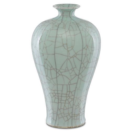Maiping Celadon Crackle Olpe Vase