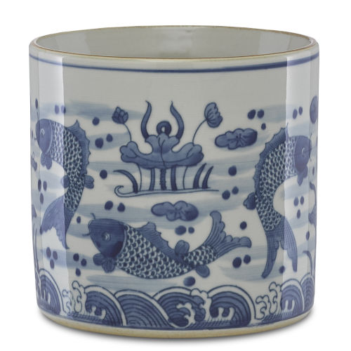Ming Blue and White Planter