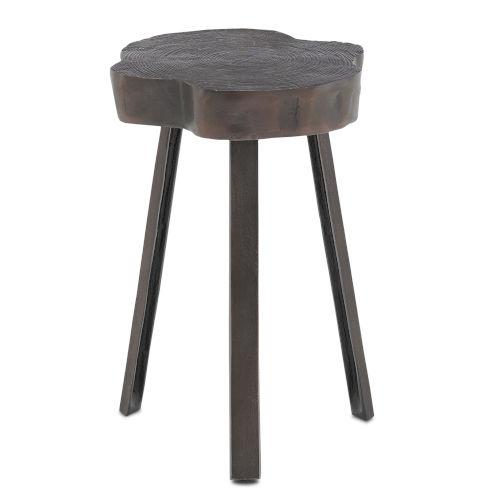 Mambo Antique Copper Accent Table