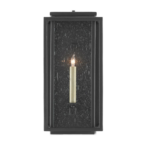 Wright Midnight One-Light Outdoor Wall Sconce
