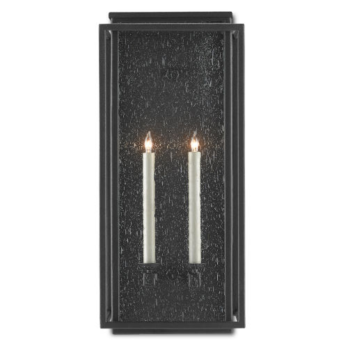 Wright Midnight Two-Light Outdoor Wall Sconce