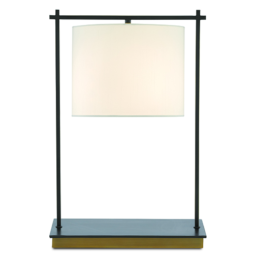 Teppo Oil Rubbed Bronze and Antique Brass One-Light Table Lamp
