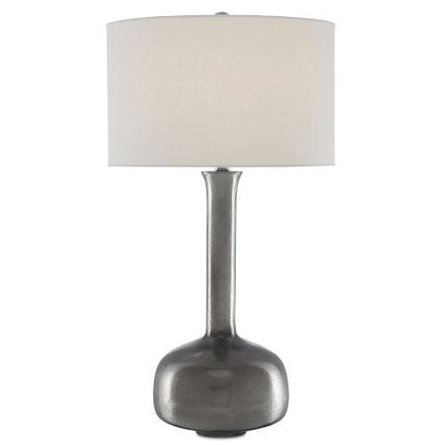 Tipsy Black Nickel One-Light Table Lamp