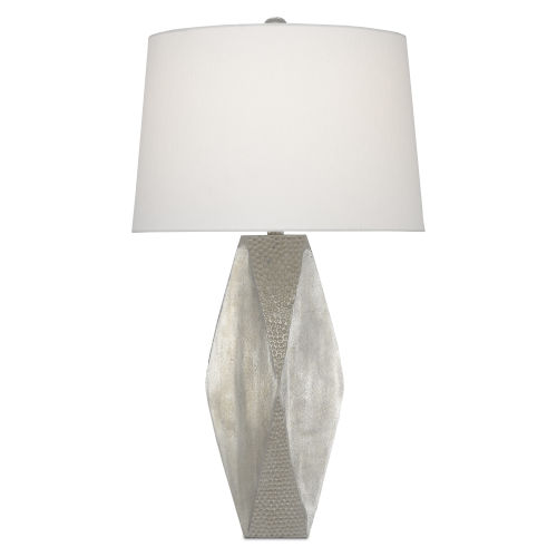 Zabrine Nickel One-Light Table Lamp