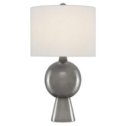 Rami Black Nickel One-Light Table Lamp