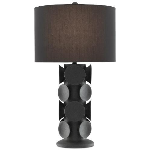 Tentecolo Terracotta and Satin Black One-Light Table Lamp