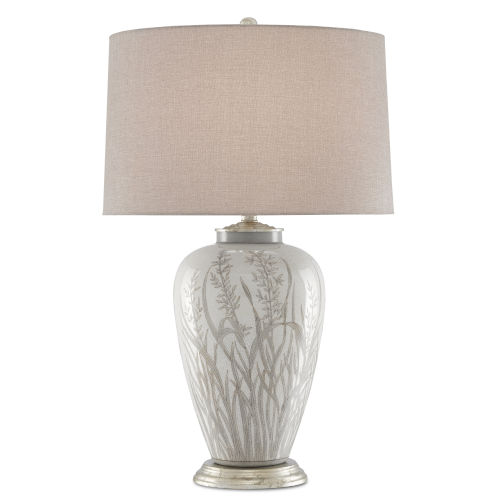 Peppergrass Taupe One-Light Table Lamp