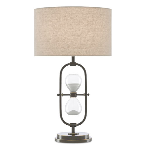 Chronicle Painted Bronze One-Light Table Lamp