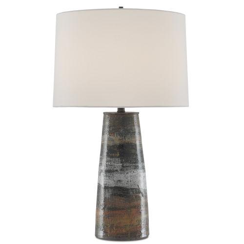 Zadoc Terracotta One-Light Table Lamp