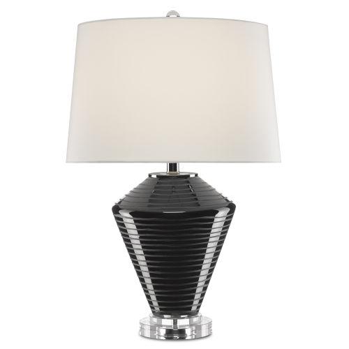 Posy Black One-Light Table Lamp