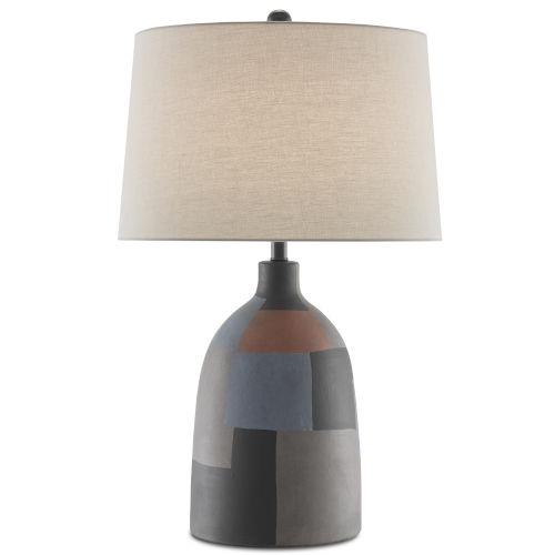 Russett Multicolor One-Light Table Lamp