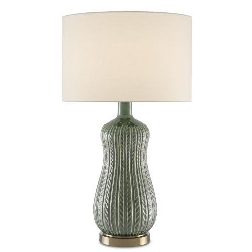 Mamora Green One-Light Table Lamp