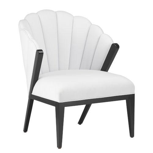 Janelle Muslin Chair
