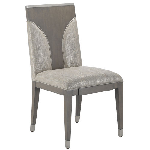 Mirra Stone and Chateau Gray Side Chair