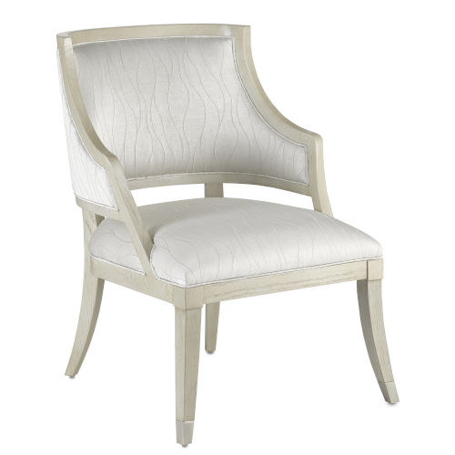 Brandy Gray Salt Pewter Platinum Occasional Chair