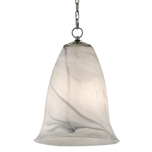 Ottorino White and Gray One-Light Pendant