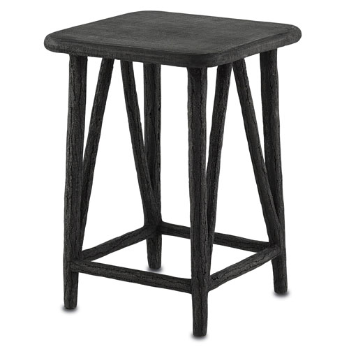 Currey And Company Faux Bois: Distressed Accent Tables