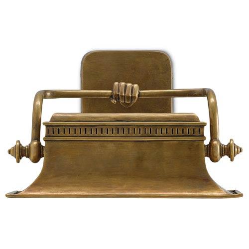 Malvasia Vintage Brass One-Light Wall Sconce