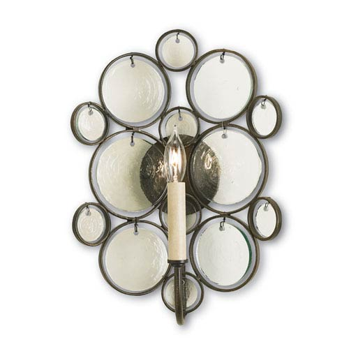 Fiona Bronze 16-Inch Wall Sconce