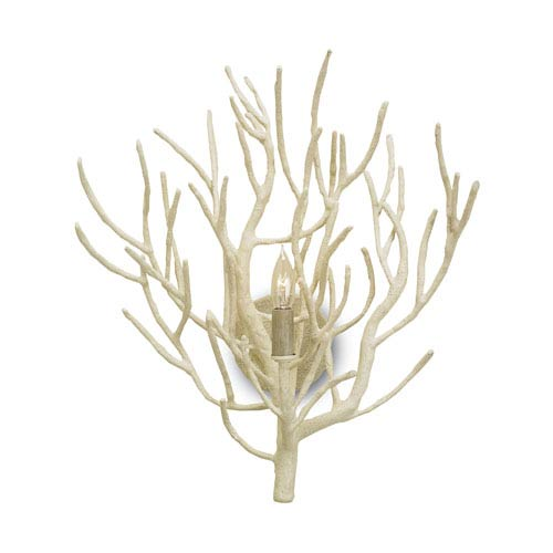 Eventide White Coral 17-Inch One-Light Wall Sconce