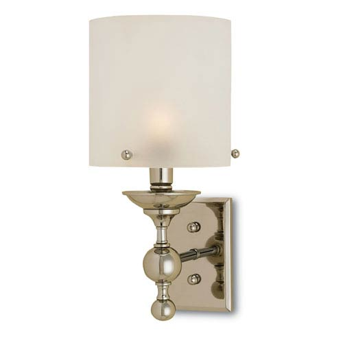 Pennsbury Polished Nickel One-Light Sconce
