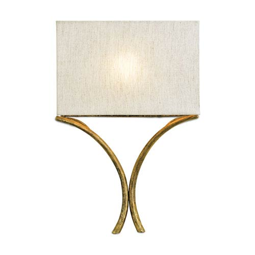 French Gold Leaf Cornwall Wall Sconce