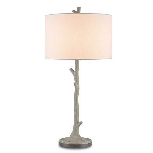 Beaujon Aged Steel 14-Inch One-Light Table Lamp