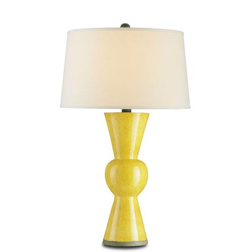 Upbeat Yellow One-Light Table Lamp