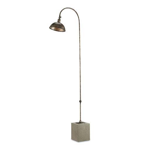 Finstock Pyrite Bronze 17.5-Inch One-Light Floor Lamp