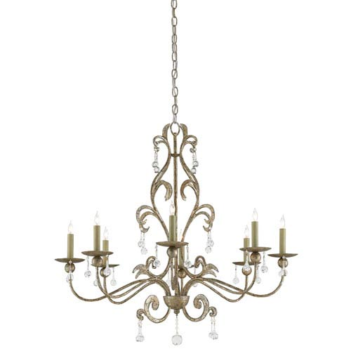 Antique italian chandelier bellacor currey company pompeii annatto antique silver eight light chandelier aloadofball Gallery