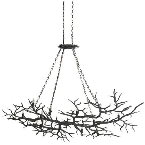 Rainforest Fourteen-Light Chandelier