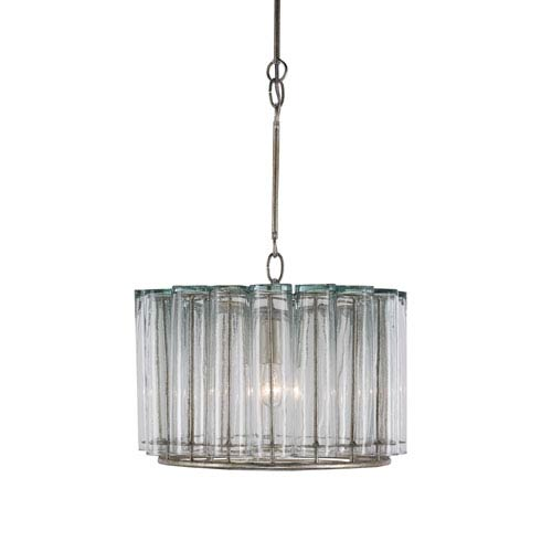 Bevilacqua Silver Leaf One-Light Pendant