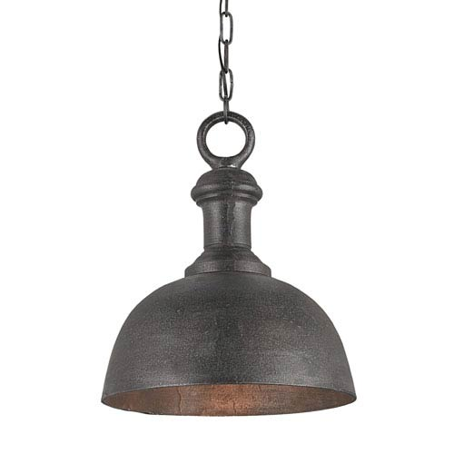 Currey And Company Phone Number: Currey & Company Timpano Antique Charcoal 14 Inch One