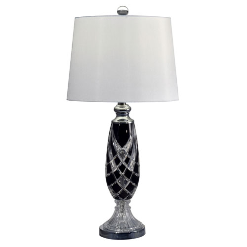 Dale Tiffany Polished Chrome One Light 14 Inch Table Lamp Gt17082