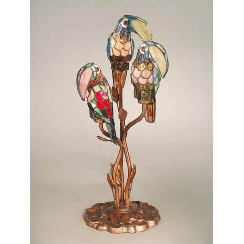Three Parrot Accent Lamp
