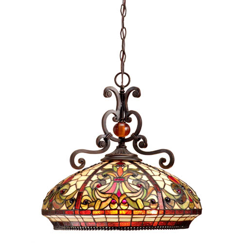 Boehme Tiffany Dome Pendant