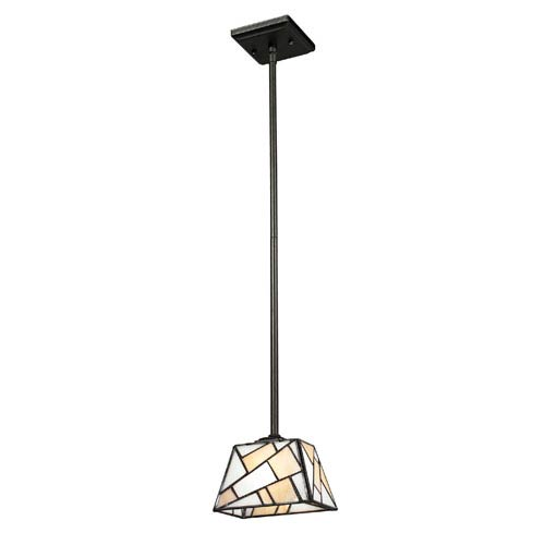 Dale Tiffany Abelia Dark Bronze 42.5-Inch Mini Pendant