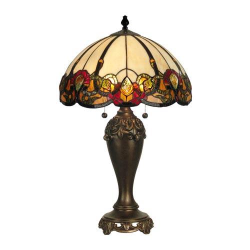 Crystal Baroque Northlake Table Lamp