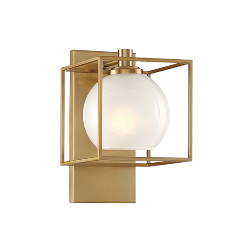 Cowen Brushed Gold One-Light Wall Sconce