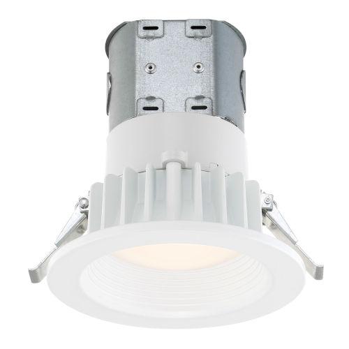 White Four-Inch 2700K LED Recessed Light