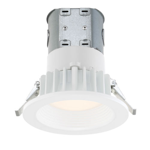 White Four-Inch 3500K LED Recessed Light