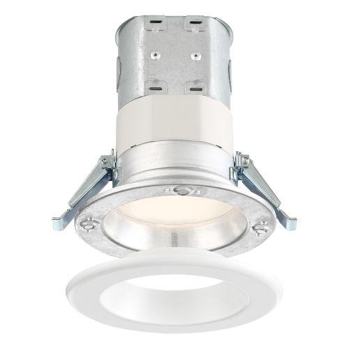 White Four-Inch 10W 2700K 700 Lumen LED Recessed Light