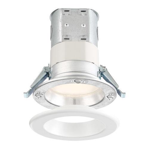 White 10W 3500K 700 Lumen LED Recessed Light