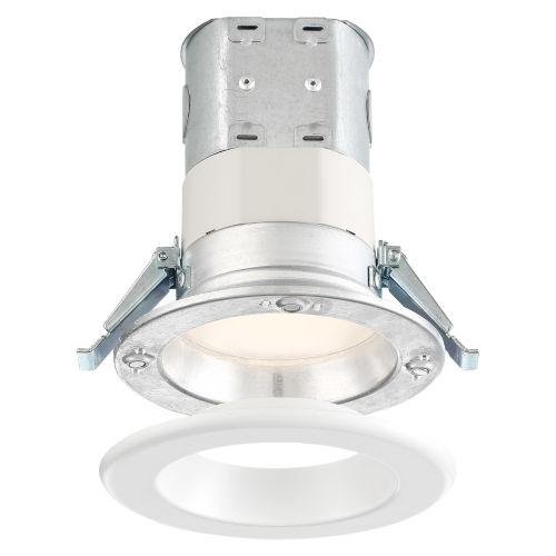 White Four-Inch 10W 5000K 700 Lumen LED Recessed Light