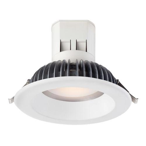White 13W 3000K 826 Lumen LED Recessed Light